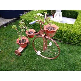 Bicicleta macetero echa en herreria en mercado libre m xico - Bicicleta macetero ...