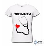 Camisetas Enfermagem Baby Look