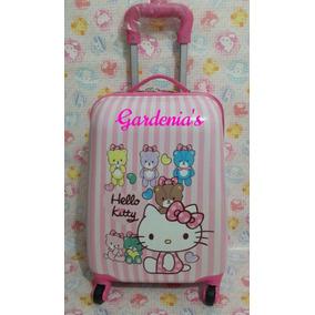 Maleta Con Ruedas Hello Kitty