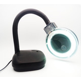 Lupa Con Lampara De Escritorio Modelo 928a Flexible Luz Fri