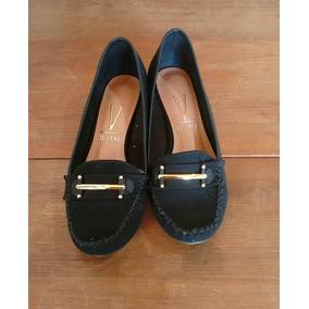 Sapato Feminino Scarpin Camurça Vizzano