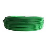 Cable De Micrófono Stereo Balanceado Verde Fluor 6mm X Metro
