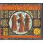 Cd Las Mejores Obras Del Canto Gregoriano - Duplo Importado