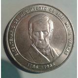 Moneda Bicentenario Del Nacimiento Del Dr José María Vargas