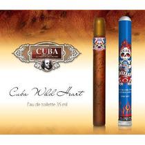 Perfume Hombre Cuba Wild Heart 35ml Love & Lucky Ed Hardy