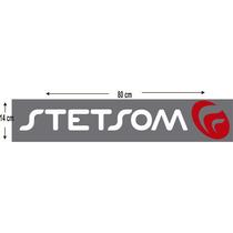 05 Adesivo Parabrisa Logo Stetsom Frete Gratis - Tunning