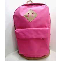Bolso Morral Universidad Estilo Jansport Totto Fucsia Maleta