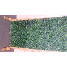 Muro Inglês Artificial Galhos Fícus Verde 2 X 1 Sem Arame