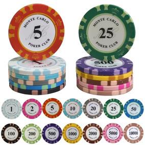 Fichas De Plastico Tipo Pokerstars, Damas, Etc.