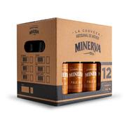 Cerveza Minerva Pale Ale 12 Pack