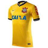 Camisa Corinthians Amarela Nike 2014