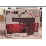 Pistola Airgun / Airsoft Kwc P40 Makarov 4co2 350 Balines