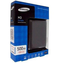 Hd Externo Samsung Seagate 500gb M3 Usb 3.0 Frete Grátis
