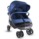 Carreola Doble Joovy Scooterx2 Graphite Azul
