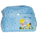 Bolsa Maternidade Looney Tunes Azul