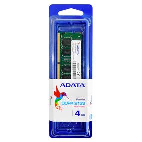 Adata Memoria Ram Para Laptop Ddr4 4gb Premier 2133mhz Sdimm