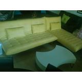 Sofa Cama Modular Mueble De Tela Incluye 3 Cojines