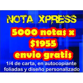5000 Notas De Remision Ventas Comandas Recibos!!!