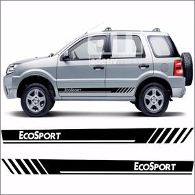Adesivo Faixa Lateral Ecosport Ford Kit Tuning Faixa Eco-12
