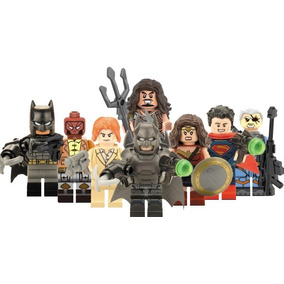 Genial Set Sw1 Batman Vs Superman Aquaman Compatible Lego