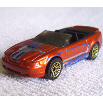 99 Mustang Convertible, Matchbox, Hecho En China En 1999