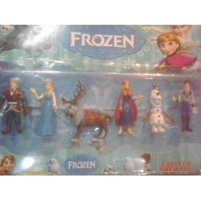 Set Frozen 6 Piezas Juguete Elsa Ana