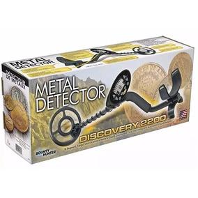 Discovery 2200 Detector De Metales Oro Plata Buscador Metal
