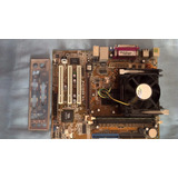 Kit Placa Mãe Asus Pentium 4 3.06 Ghz Ht Mem 1gb