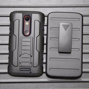 Funda Protector 3 En 1 Uso Rudo Case Droid Turbo 2 Xt1585
