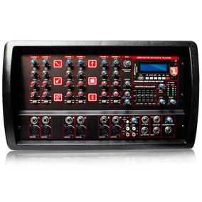 Mezcladora Amplificador 6ch 2000w Efect Bluetoot