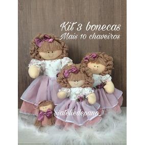 Bonecas De Pano E Lembranças
