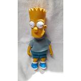Muñeco Bar Simpsons Cuerpo Tela Cabeza Pies Y Manos Plastico