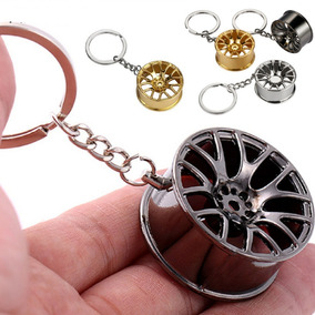 Chaveiro Estilo Aro De Carro Esportivo Metal Acessório Carro