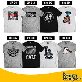 Kit 5 Camiseta Camisa Masculina Atacado Blusa Baratas 3e9bad3baab