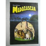 Imperdible Poster Pelicula De Madagascar