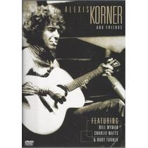 Alexis Korner - And Friends ( Dvd - Importado Usa)