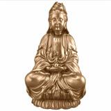 Kuan Yin - 40 Cm. - Deusa Da Compaixão - Estatueta Buda