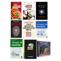 Libros Memoria Y Concentracion Pdf + Audios Y Videos En Paq