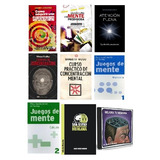 Libros Memoria Y Concentracion Pdf + Audios Y Videos, Pack