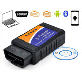Escaner Interface Elm 327 Bluetooth Automotriz Obd-ii Carro