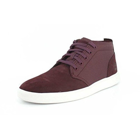 Tenis Timberland Groveton Guinda Hombre A1jhah54 Look Trendy