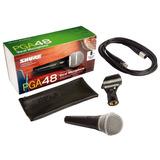 Micrófono Bobina Móvil Con Cable Shure Pga48-xlr