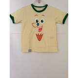 Camiseta Infantil Visconde De Sabugosa Sítio Do Picapau
