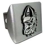 Bulldogs De La Universidad De Georgia \plata Cepillada Con