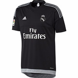 Jersey Oficial adidas Real Madrid Portero Negro 2015-2016
