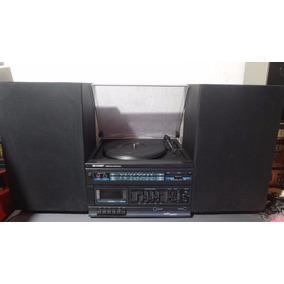 Toca Discos - System 3 Em 1 Sharp - Para Conserto!!