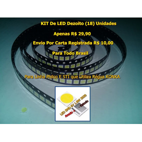 Led Smd 3030 6v 1.8w Tv Sti E Philco Kit 18 Unidades