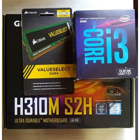 Kit I3 8100+ H310 + 8gb Ddr4