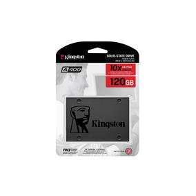 Ssd 120 Gb Sata 3 Kingston A400 - 500 Mb/s (10x + Rápido)
