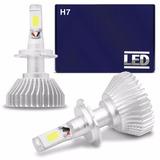 Kit Lampada Super Led H7 6000k Branca Headlight 4400 Lumens